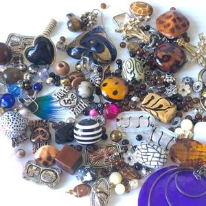 Other - Bead Supply Lot, Jewelry Making Bead Mix, Destash